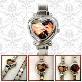 ceas de mana inima pt femei personalizat