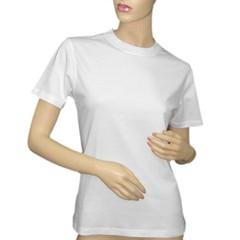 tricou personalizat femei, clasic alb