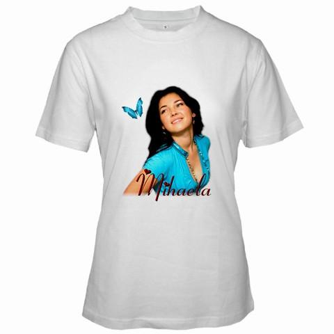 tricou personalizat alb pt femei