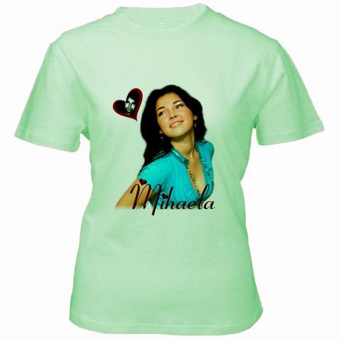 tricou personalizat verde pt femei