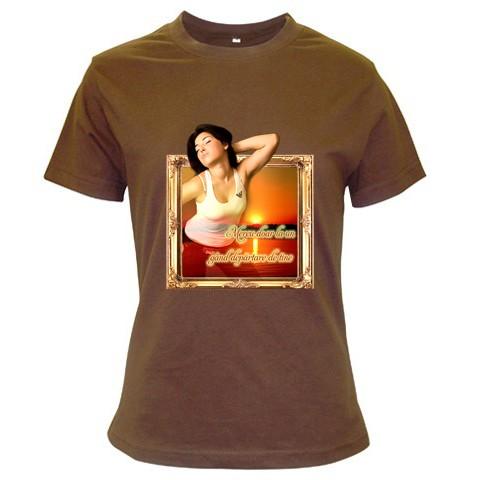 tricou personalizat maro pt femei