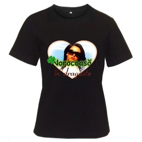 tricou personalizat negru pt femei