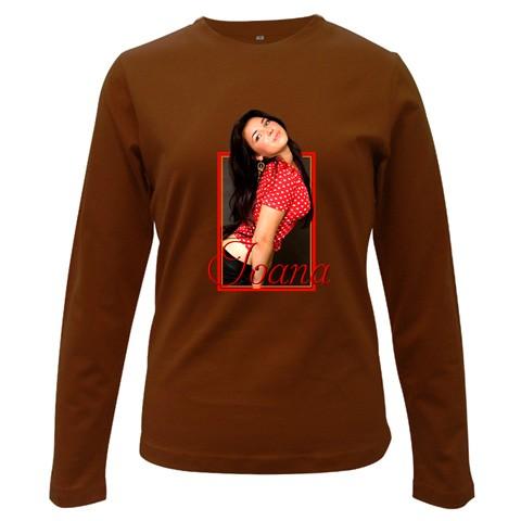 bluza personalizata femei, maro
