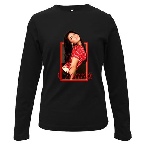 bluza personalizata femei, neagra