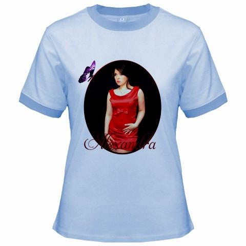 tricou personalizat albatru, pt femei