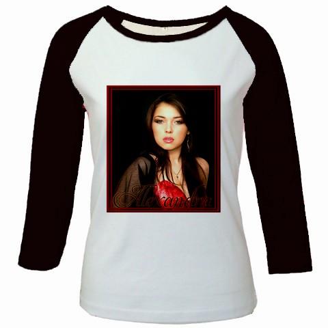 bluza personalizata femei, alb negru
