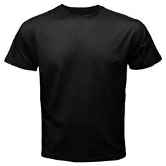tricou negru personalizat pt el