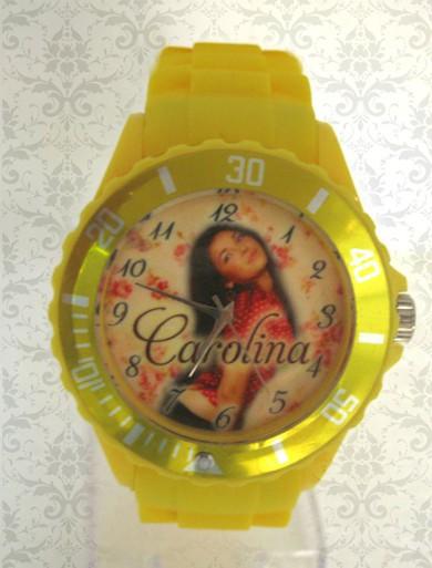 ceasuri curea de plastic, colorate, personalizate