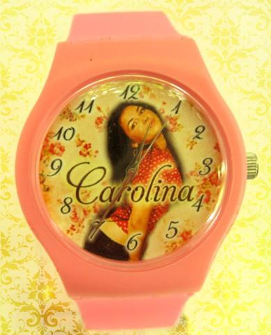 ceasuri de mana colorate medii, personalizate cu poza