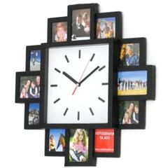 Ceasuri personalizate de perete cu 12 rame foto