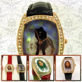 ceas de mana elegant, dreptunghi cu cristale