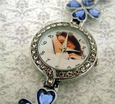 ceasuri dama, ornamentat elegant cu cristale si personalizate cu poze
