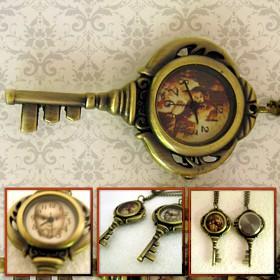 ceas cheita breloc, personalizat cu poze