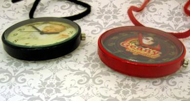 ceas breloc mare cu propria poza, cadouri personalizate