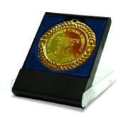Medalie gravata cu cutie albastra