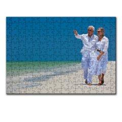 puzzle dreptunghi 192 piese personalizat, carton