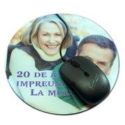 mousepad rotund personalizat cu poze