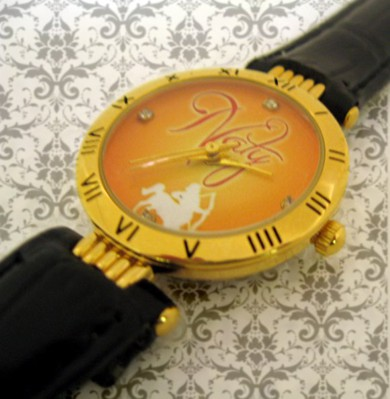 ceasuri dama, aurite rotunde, personalizate