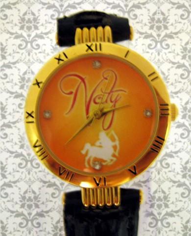 ceas aurit personalizat, pentru ea, cadouri personalizate