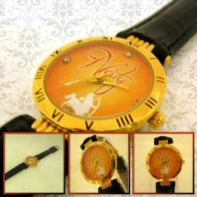 ceas dama aurit, personalizat, cadou pentru ea