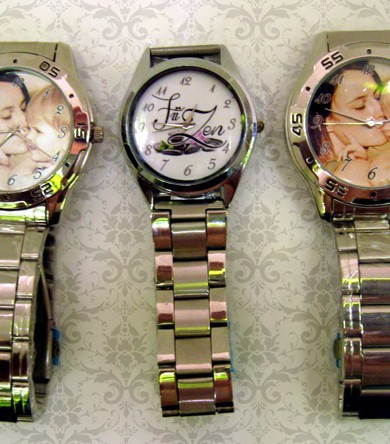 ceas de mana cu poza, mesaj, cadouri personalizate