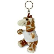 breloc animalute plus cu tricouri personalizate, girafa