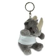 breloc animalute plus cu tricouri personalizate, rinocer