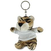 breloc animalute plus cu tricouri personalizate, tigru