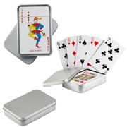 carti de joc in cutie metalica personalizata