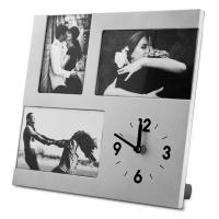 Ceas de birou personalizate cu trei poze