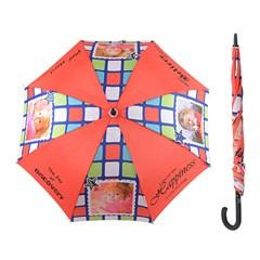 umbrela cui mare personalizata cu poza