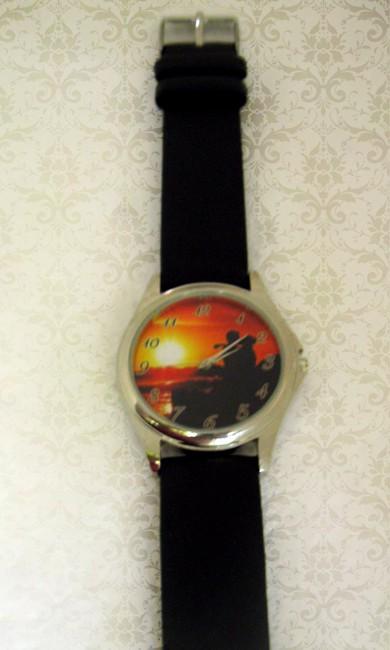ceas personalizat de mana, unisex, rotund, cadou