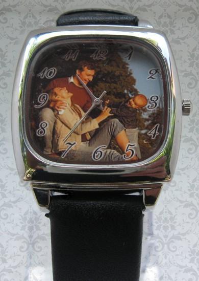 ceas unisex patrat, personalizat cu poze, cadoul perfect pt el, ea