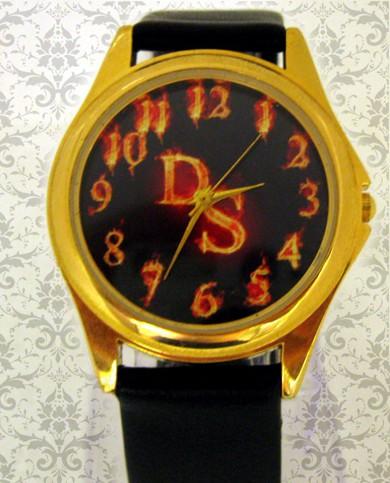 ceas unisex aurit, personalizat cu poze, cadoul perfect pt el, ea