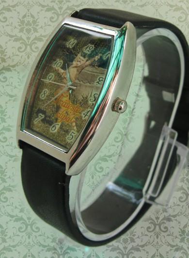 ceas dreptunghi clasic curea piele, personalizat