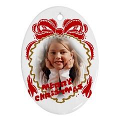 ornamente craciun personalizate, ovale