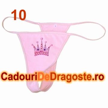 bikini personalizati coroana printesa