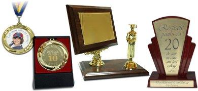 diplome, medalii, trofee personalizate