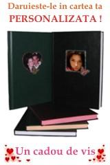 cadouri de vis - carti personalizate cu citate de dragoste