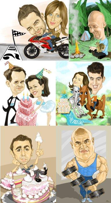 caricaturi complexe