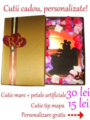 carti personalizate, cutii cadou, cadouri perfecte