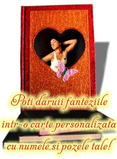 Cel mai fierbinte cadou - fantezii erotice intr-o carte personalizata