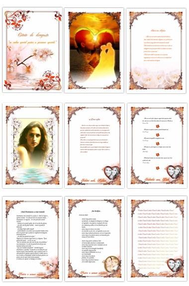 pagini de carti personalizate - cadouri majorat
