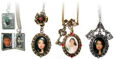 pandative, medalioane cu poze